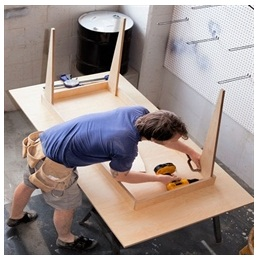 Сборка столов по низким ценам в Уфе от специалистов