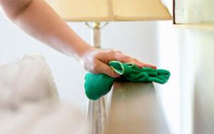 Уборка пыли в квартире и доме в Уфе