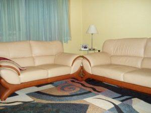 Перетяжка кожаной мебели в Уфе